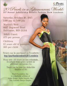 Pearl Foundation Inc. Fashion Show